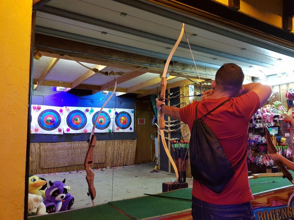 Prater tiro con arco