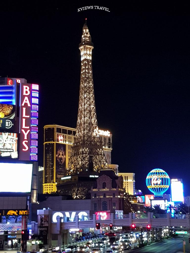 Las Vegas Torre Eiffel