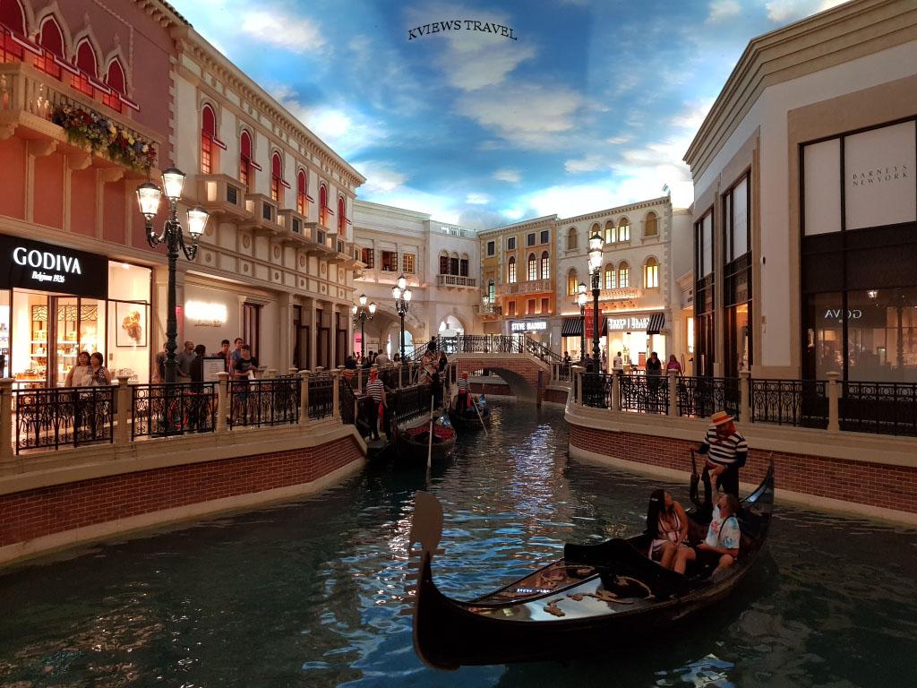 Góndolas Hotel Venetian