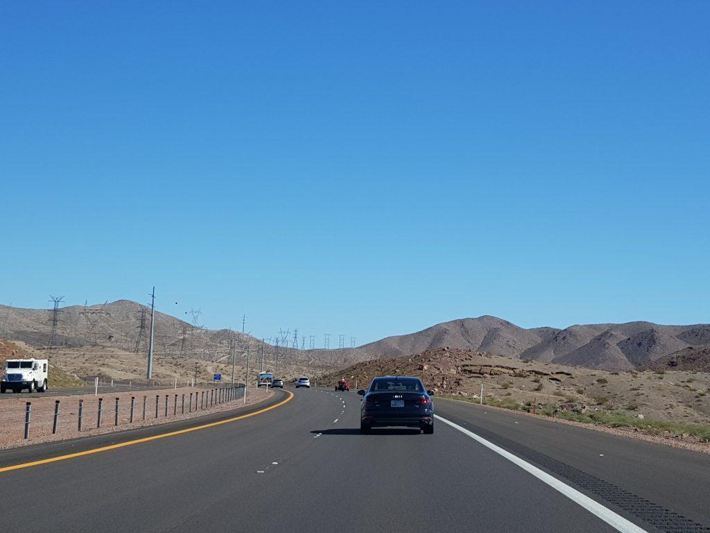 Camino al Gran Cañón