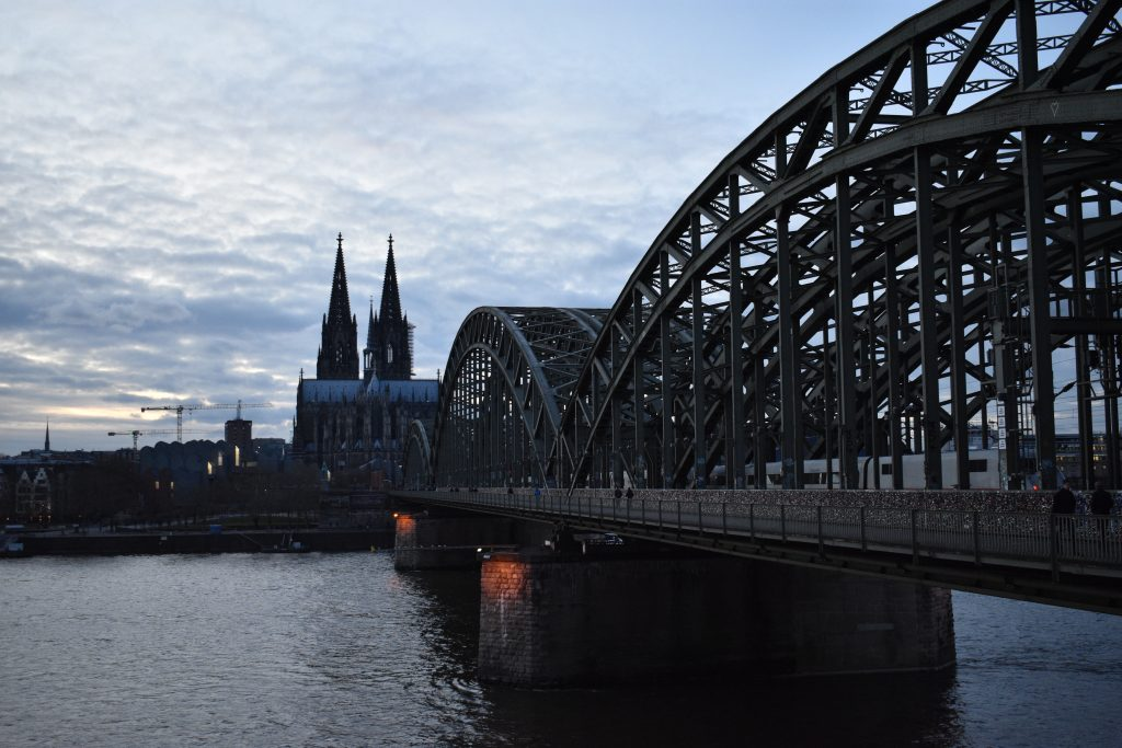 Puente Hohenzollernbrücke