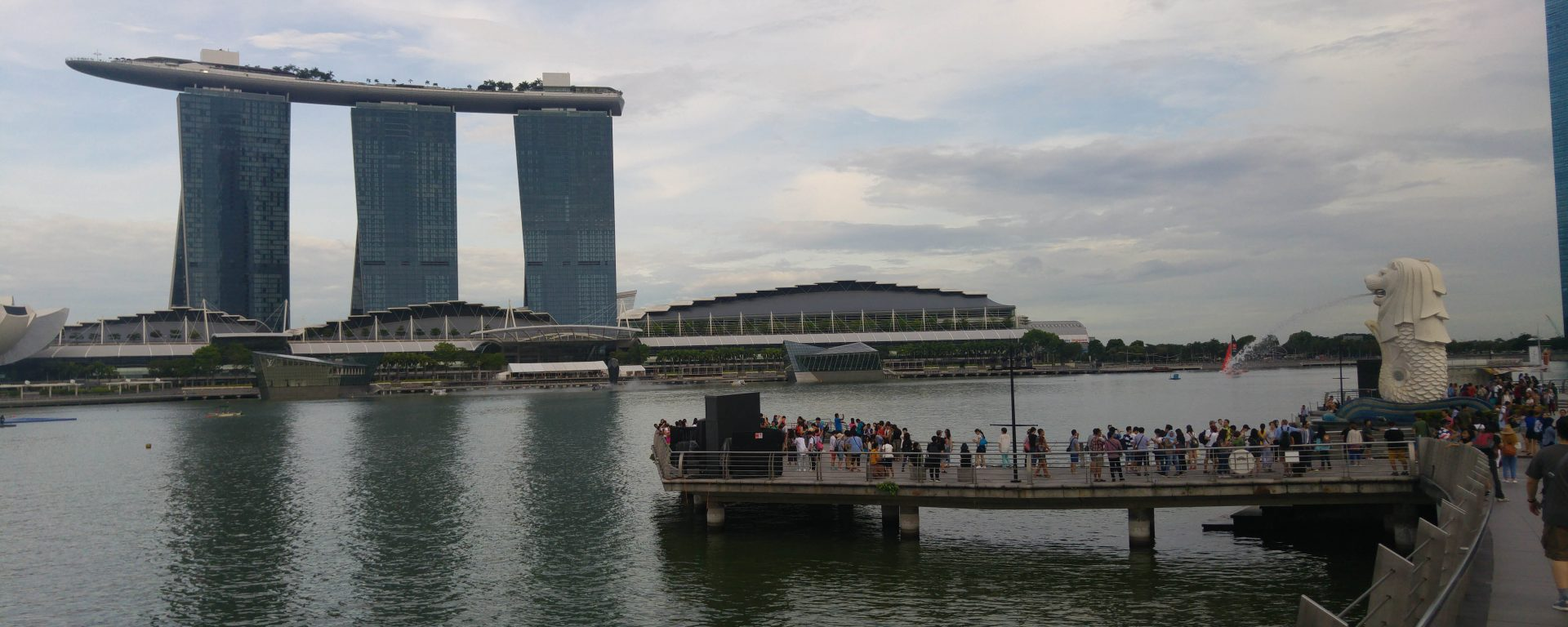 Merlion Park Singapur
