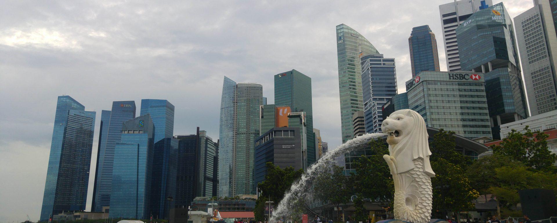 Merlion Singapur