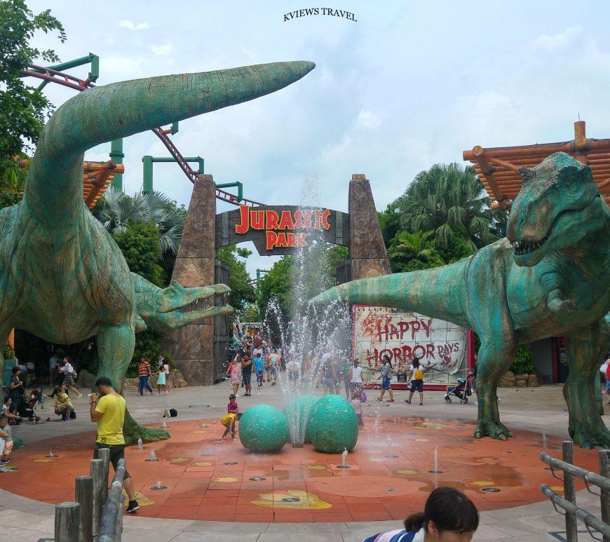 Isla Sentosa Jurassic Park